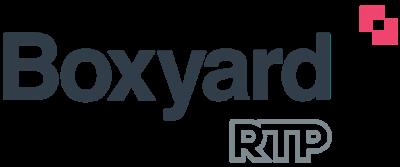 Boxyard RTP logo. go to boxyard.rtp.org